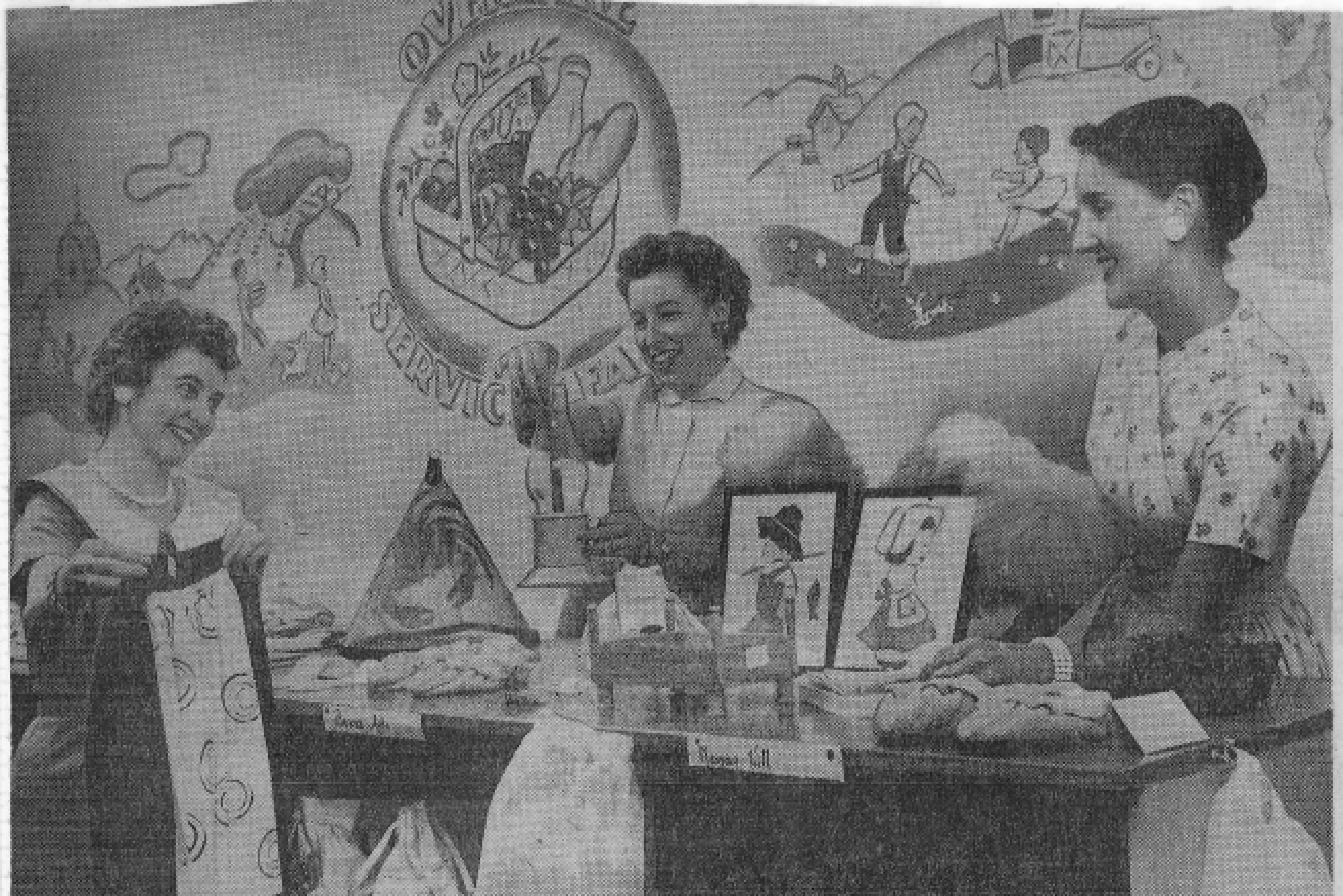 In 1956, the Thrift Shop was the organization's major fundraiser
