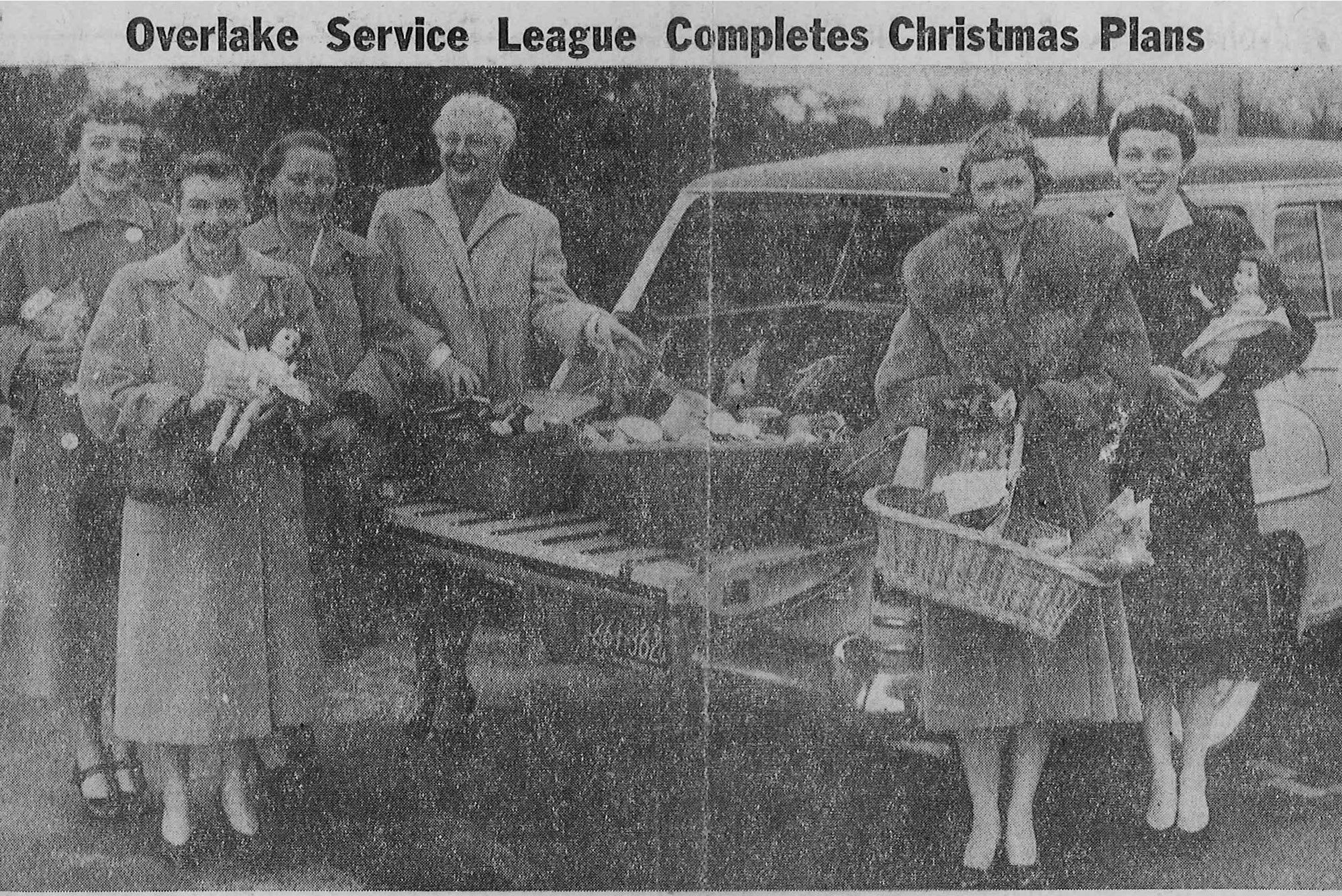 Holiday Adopt-A-Family in 1954