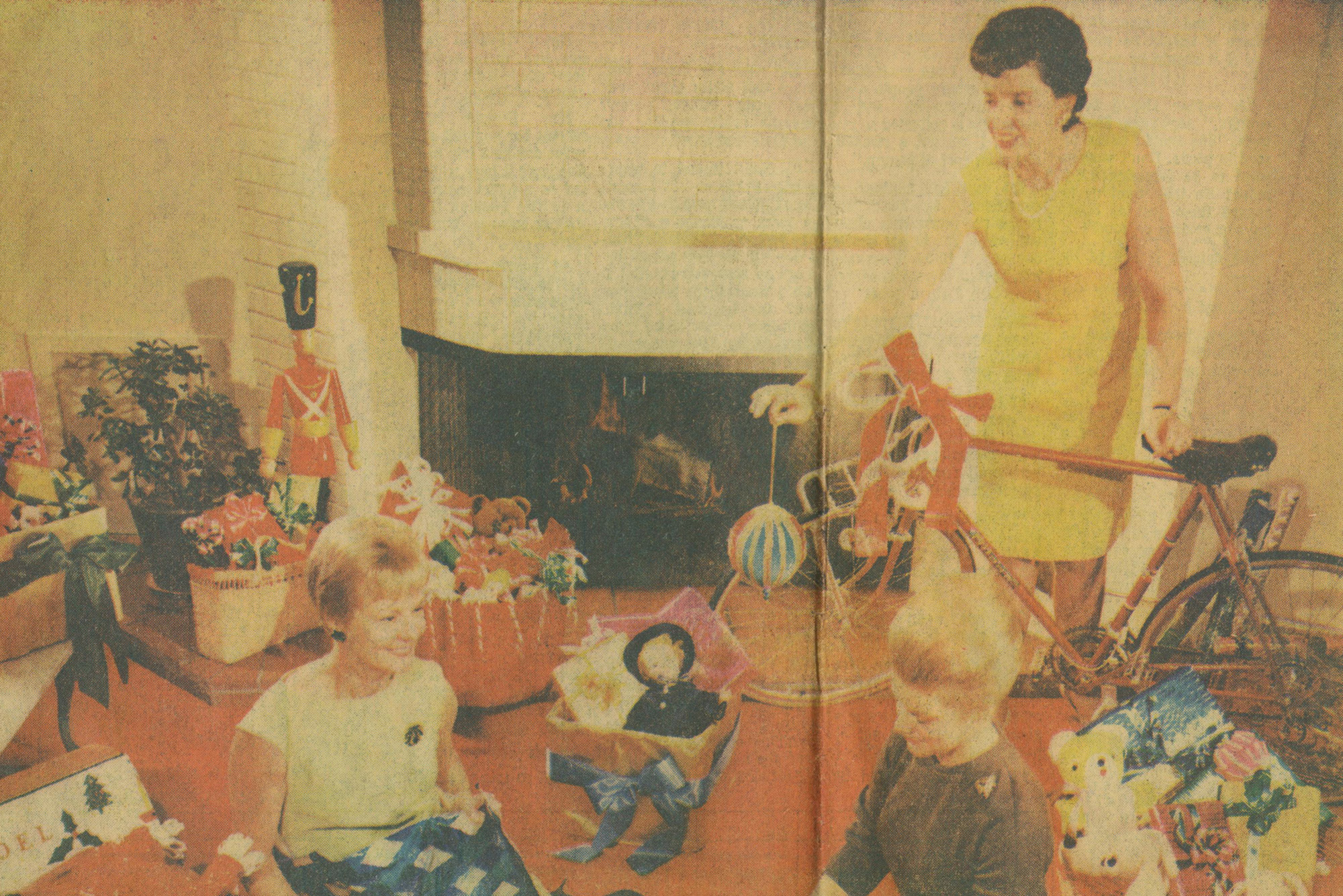 Holiday Adopt-A-Family in 1966