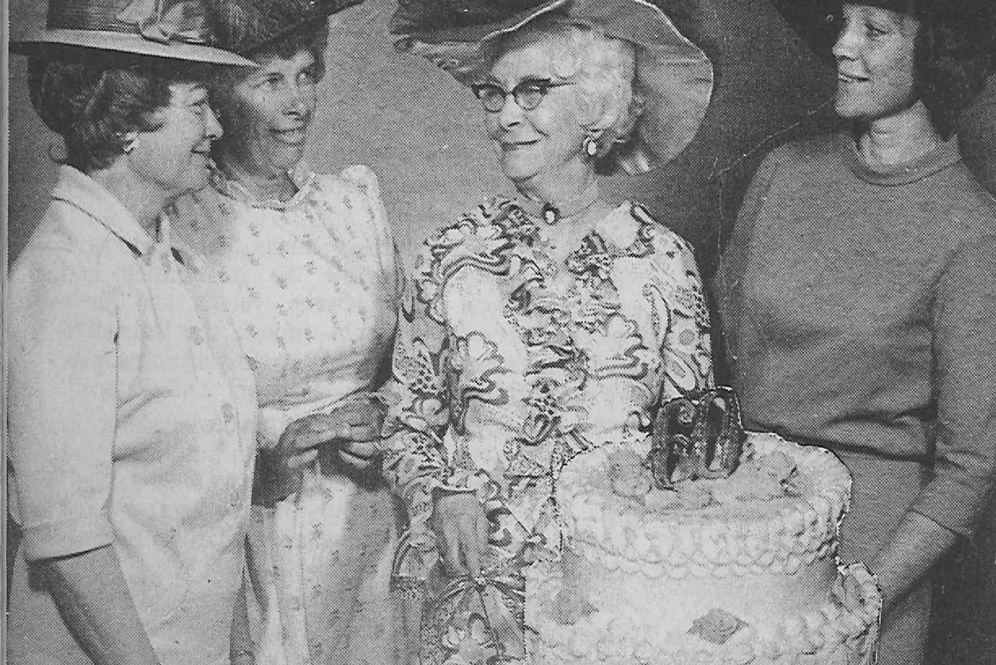 Circle Members celebrated the organization's 60th anniversary in 1971