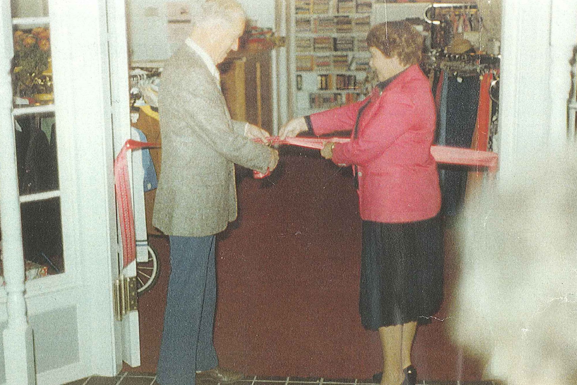The grand opening of the Thrift Shop's new space at Bellevue Square in 1981