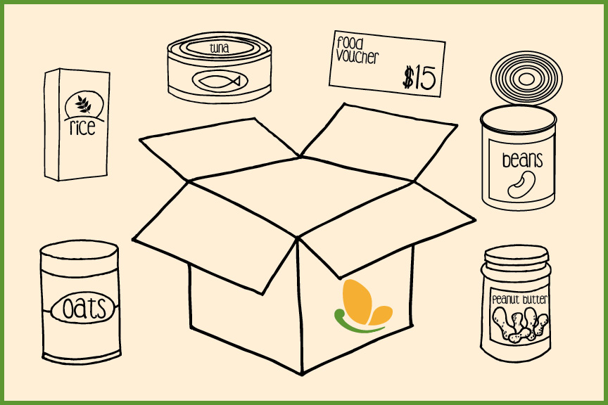 Breaktime-Mealtime box