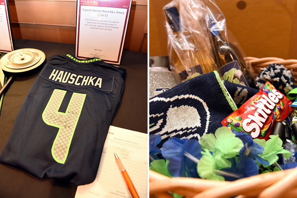 Seahawks auction items