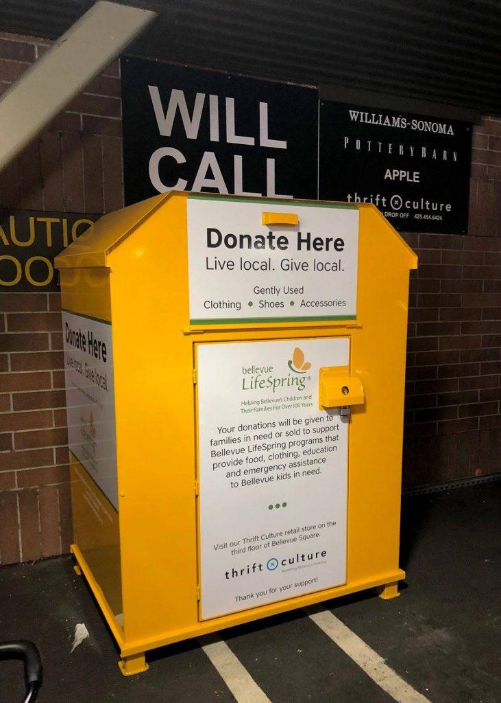 Thrift Culture donation bin